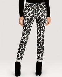 Karen Millen Jeans Skinny Leopard Print