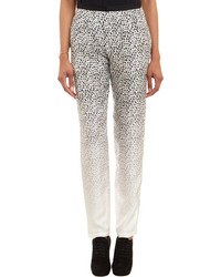 Band Of Outsiders Leopard Print Pants