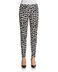 Simba leopard print skinny pants medium 85847