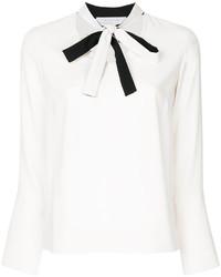 Bow collar blouse medium 6446549