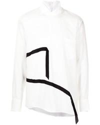 Sulvam Strap Embellished Shirt