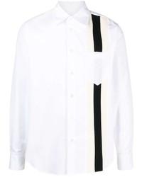 Marni Striped Panel Buttoned Shirt