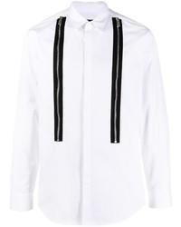 DSQUARED2 Zip Detail Long Sleeve Shirt