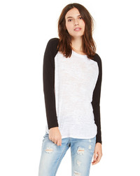 White and black long sleeve t shirt original 3140115