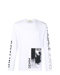 Versace Jeans Graphic Long Sleeve Top
