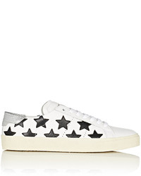 Saint Laurent Sl06 Leather Sneakers