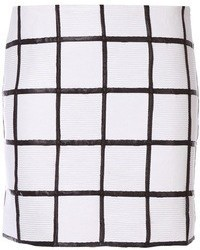 White and black mini skirt original 3148683