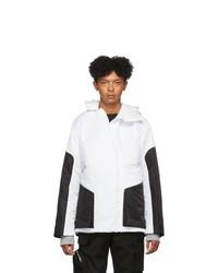 Spencer Badu White And Black Winter Coat