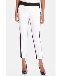 White and Black Pants