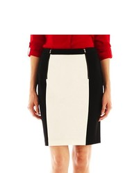 MNG by Mango Colorblock Pencil Skirt