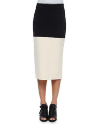 Rag and Bone Rag Bone Regina Colorblock Midi Pencil Skirt