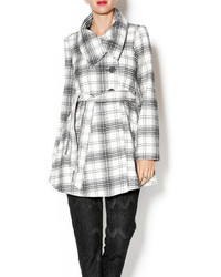 Jack Kinsey Plaid Coat