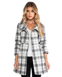 BB Dakota Kinsey Plaid Coat