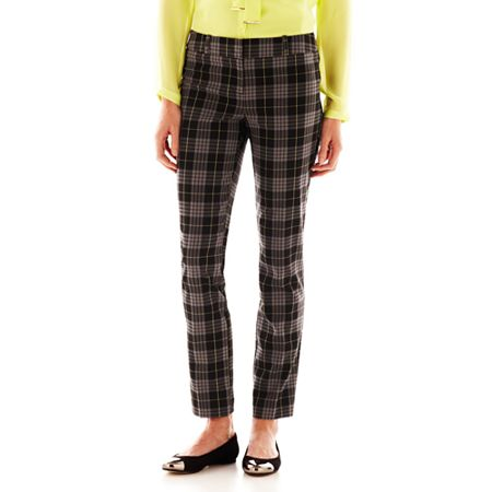 Worthington Slim Plaid Pants Tall | Where to buy & how to wear