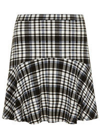 Dorothy Perkins Black And White Check Skirt