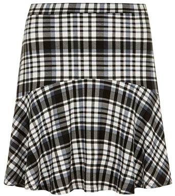 Black White Check Skirt eBay