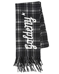 Golden Goose Deluxe Brand Goldeny Plaid Wool Scarf