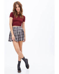 Plaid skater skirt medium 105153
