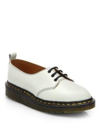 White and black platform loafers original 10003068