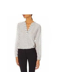 The limited polka dot layering blouse medium 236293