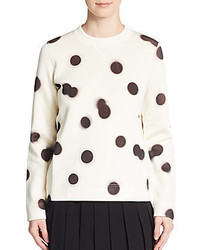 Marc by marc jacobs blurred polka dot sweater medium 429222