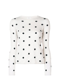 Max Mara Polka Dot Sweater