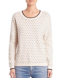 Max Mara Weekend Tempio Polka Dot Sweater