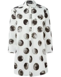 Large polka dot print shirt medium 235867