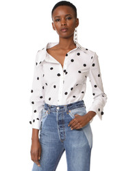 Monse button down shirt medium 6860663