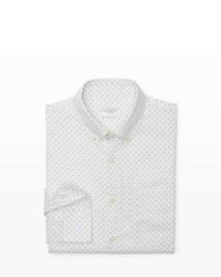 Club Monaco Slim Fit Multi Dot Shirt