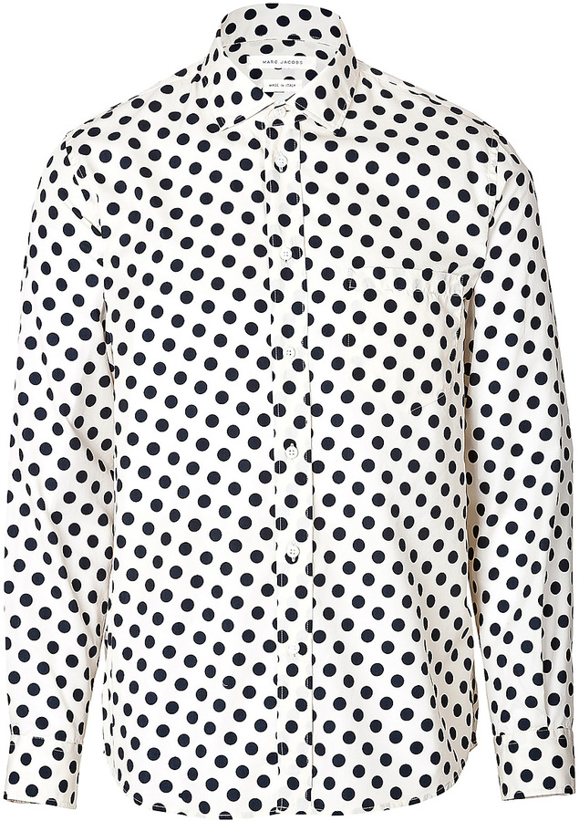 Marc Jacobs Cotton Silk Polka Dot Shirt | Where to buy & how to wear