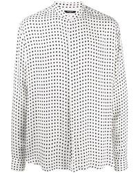 Balmain Polka Dot Print Shirt