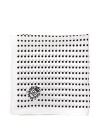 Dolce & Gabbana Polka Dot Silk Satin Pocket Square