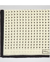 Reiss Hampton Micro Polka Dot Pocket Square