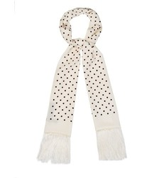 Polka dot silk scarf medium 417931