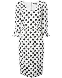 Dolce & Gabbana Polka Dot Print Dress