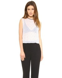 Polka dot top medium 66179