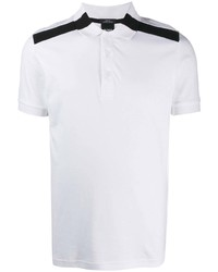 BOSS Paule Shoulder Logo Stripe Polo Shirt