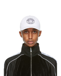 Versace White And Black Medusa Cap