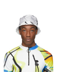 Off-White White Futura Abstract Bucket Hat