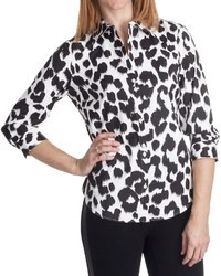 Paperwhite Animal Print Shirt