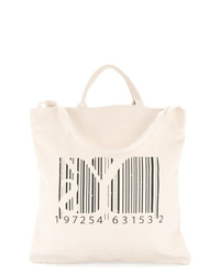 Y's Barcode Tote Bag