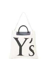 Y's Logo Shopper Tote
