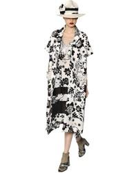 Antonio Marras Printed Lace Cotton Jacquard Coat