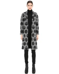 Es givien printed polka dot kimono coat medium 1159554