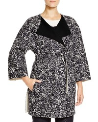 Max Mara Weekend Lente Reversible Wool Belted Coat
