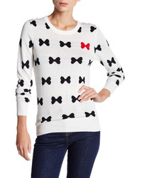 French Connection All Over Bows Sweater