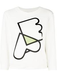 Emporio armani logo print sweatshirt medium 1102426