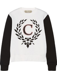 Etre Cecile Printed Cotton Fleece Sweatshirt