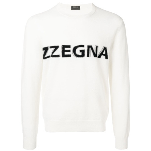 1a9dfc354101 Z Zegna Logo Fine Knit Sweater | Where to buy & how to wear